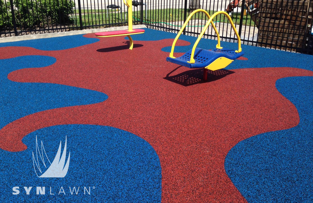 SYNPour Pour in Place SynLawn Turf