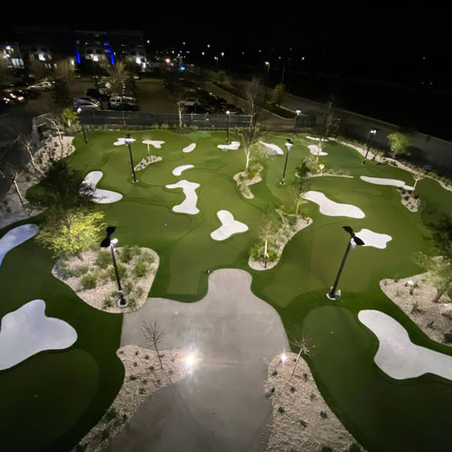 SYNLawn Golf course aerial view
